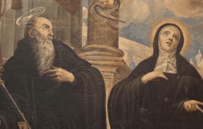 santa-escolastica - Nossa Senhora das Graças