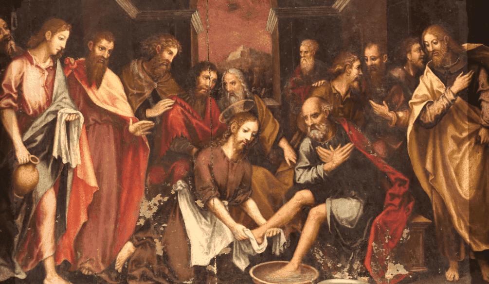 o-lava-pes - Nossa Senhora das Graças