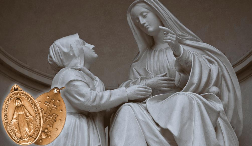 a-medalha-que-veio-do-ceu - Nossa Senhora das Graças