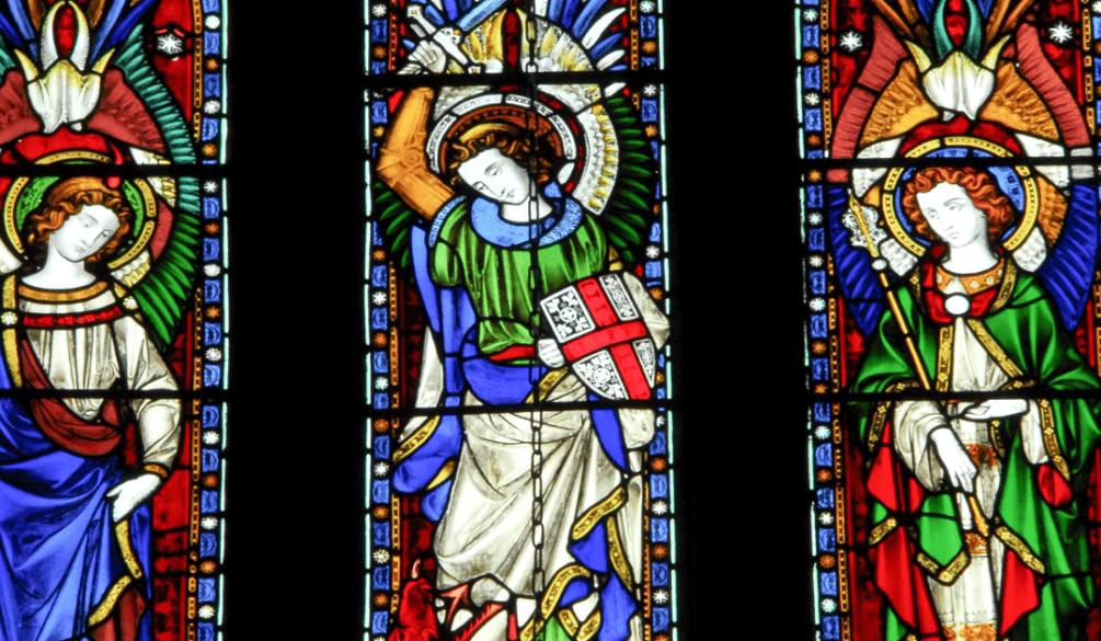 os-arcanjos - Nossa Senhora das Graças